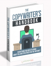 The Copywriter's Handbook eBook with Master Resell Rights