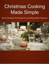 Christmas Cooking Made Simple eBook with private label rights