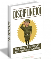 Discipline 101 eBook with Master Resell Rights