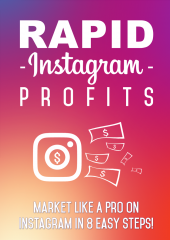 Rapid Instagram Profits eBook with private label rights