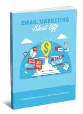 Email Marketing Blast Off eBook with Master Resell Rights