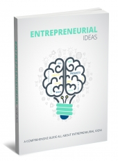Entrepreneurial Ideas eBook with private label rights
