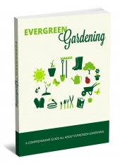 Evergreen Gardening eBook with private label rights