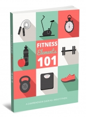 Fitness Elements 101 eBook with private label rights