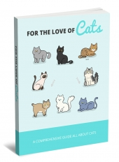 For The Love Of Cats eBook with private label rights