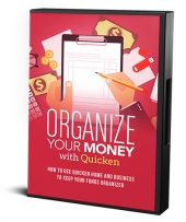 Organize Your Money With Quicken Video with private label rights