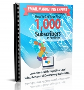 Email Marketing Expert eBook with Master Resell Rights