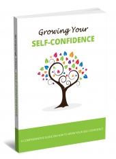 Growing Your Self-Confidence Free PLR Article with private label rights