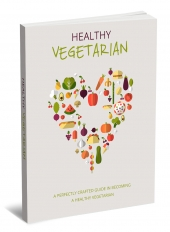 Healthy Vegeterian eBook with Master Resell Rights