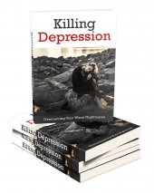 Killing Depression eBook with private label rights