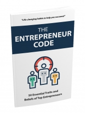 The Entrepreneur Code eBook with private label rights