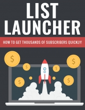 List Launcher PLR eBook with Private Label Rights