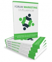 Forum Marketing Influence eBook with Master Resell Rights