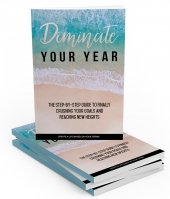 Dominate Your Year eBook with Master Resell Rights