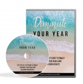 Dominate Your Year Video Upgrade Video with Master Resell Rights