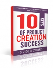 10 Keys Of Product Creation Success Video with Master Resell Rights