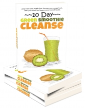 Green Smoothie Cleanse eBook with Master Resell Rights