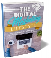 The Digital Marketing Lifestyle eBook with private label rights