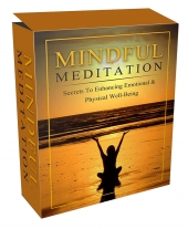 Mindful Meditation Mastery eBook with Master Resell Rights