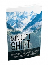 Mindset Shift eBook with Master Resell Rights
