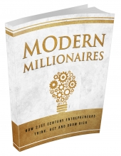 Modern Millionaires eBook with Master Resell Rights
