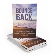Bounce Back eBook with Master Resell Rights