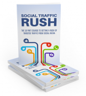 Social Traffic Rush eBook with private label rights
