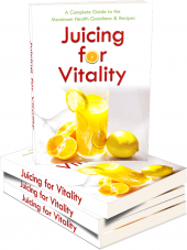 Juicing For Vitality eBook with private label rights