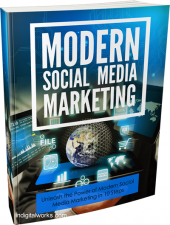 Modern Social Media Marketing eBook with private label rights