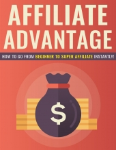 Affiliate Advantage eBook with Private Label Rights