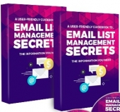 Email List Management Secrets eBook with Private Label Rights