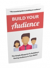Build Your Audience eBook with Master Resale Rights