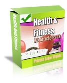 Private Label Article Pack : Health Articles eBook with Private Label Rights
