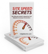 Site Speed Secrets eBook with private label rights