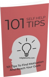 101 Self Help Tips eBook with private label rights