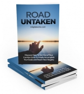 Road Untaken eBook with private label rights