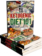 Ketogenic Diet 101 eBook with private label rights
