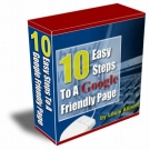 10 Easy Steps To A Google Friendly Page eBook with Resell Rights