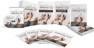 30 Days Content Marketing Plan Video Upgrade