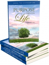 Purpose Driven Life eBook with private label rights