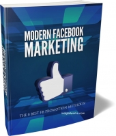 Modern Facebook Marketing Guide eBook with private label rights