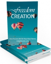 Freedom Creation eBook with Master Resale Rights