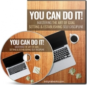 You Can Do It Video Upgrade Video with Master Resale Rights
