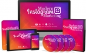 Modern Instagram Marketing Video Upgrade Video with Master Resale Rights