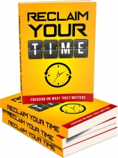 Reclaim Your Time eBook with Master Resale Rights