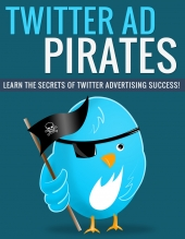 Twitter Ad Pirates eBook with Private Label Rights