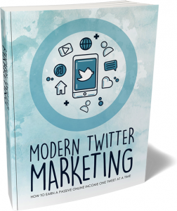 Modern Twitter Marketing eBook with private label rights