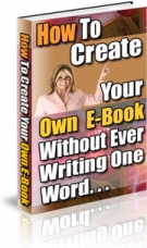 How To Create Your Own E-Book eBook with Resell Rights