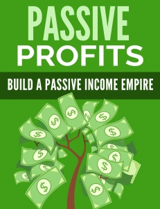 Passive Profits eBook with Private Label Rights