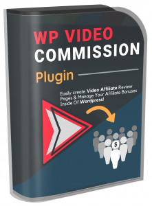 WP Video Commission Plugin Software with Resell Rights